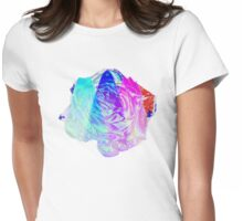 Multi Rose T SHIRT Womens Fitted T-Shirt