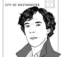 Benedict Cumberbatch - Sherlock Holmes - BBC Three - Baker Street by Matty723