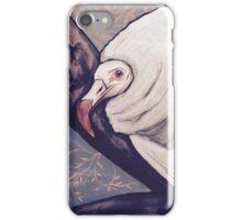 Oswald the albino vulture iPhone Case/Skin