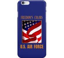 U.S. Air Force Freedom's Colors iPhone Case/Skin