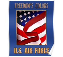 U.S. Air Force Freedom's Colors Poster