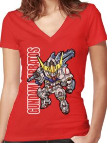 Iron Blooded Orphans Women's Fitted V-Neck T-Shirt