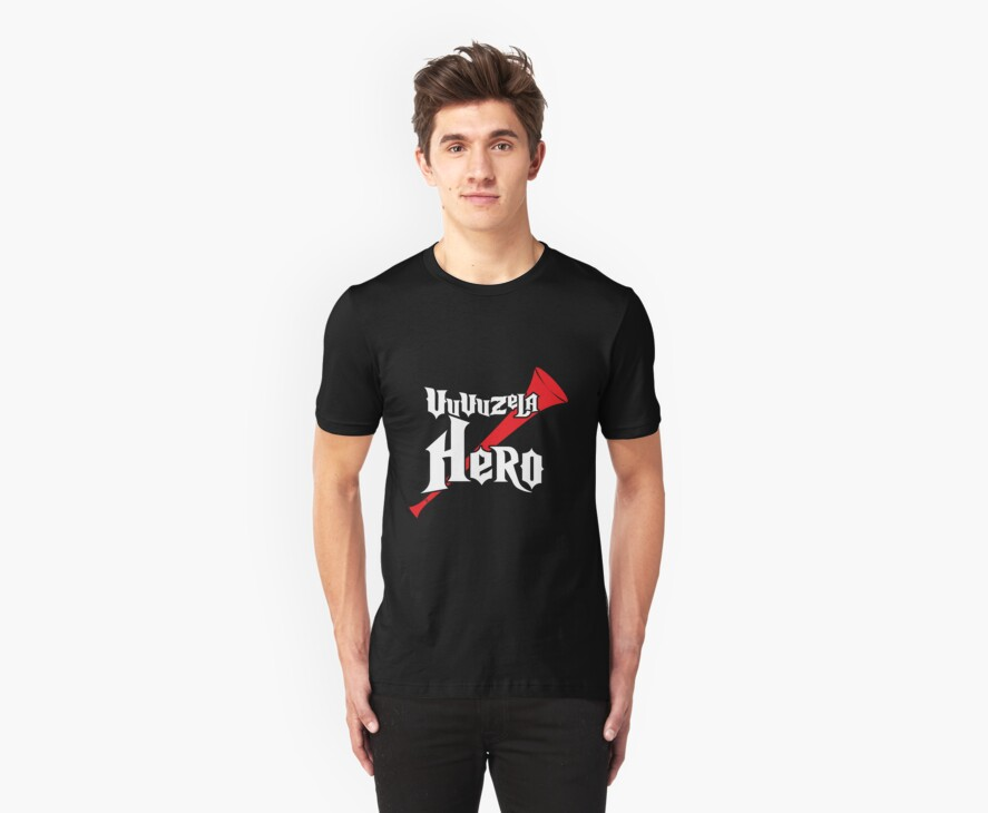 Vuvuzela Hero by foofighters69