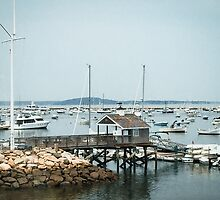 Plymouth Yacht Club in Massachusetts by Elizabeth Thomas