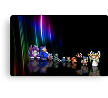 Wonder Boy in Monster World pixel art Canvas Print