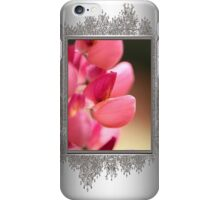 Lupine named Gallery Red iPhone Case/Skin