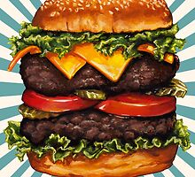 Double Cheeseburger by Kelly  Gilleran