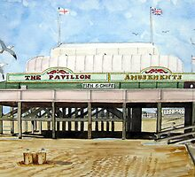 """Britain's Shortest Pier"" - Burnham-on-Sea by Timothy Smith"