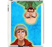 brba - walt x jesse iPad Case/Skin