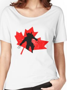 Canadian Wolverine Women's Relaxed Fit T-Shirt