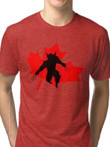 Canadian Wolverine Tri-blend T-Shirt