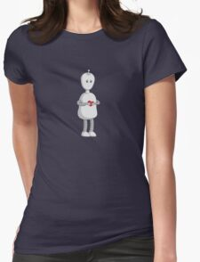 Robots Need Love Too Womens T-Shirt