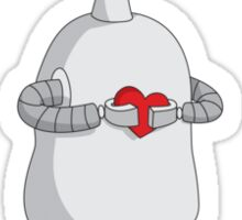 Robots Need Love Too Sticker