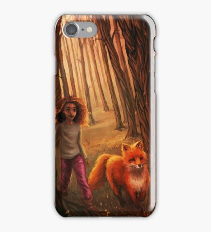 The Fox in the Forest iPhone Case/Skin