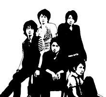 [J-POP DESIGNS] ARASHI BAND by Machan Amari