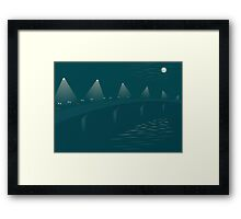 Four Bridges Dawn Framed Print