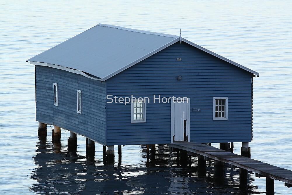 Crawley Boatshed by Stephen Horton