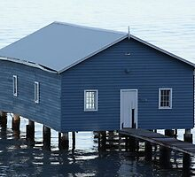 Crawley Boatshed by Stephen Horton