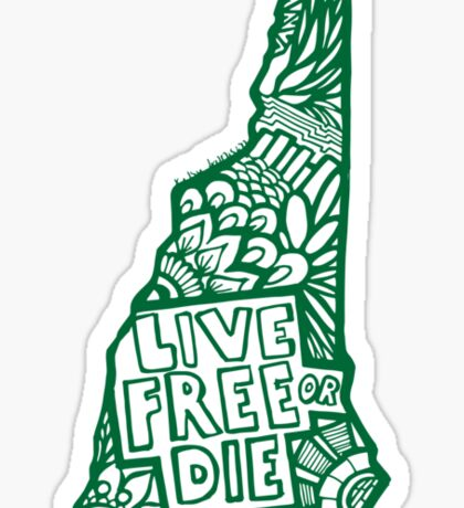 603_LiveFreee Sticker