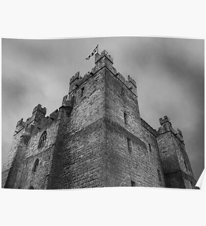 Langley Castle Poster