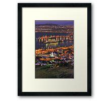 Cape Town CBD & Harbour Framed Print
