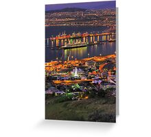 Cape Town CBD & Harbour Greeting Card
