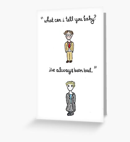 Fool For Love Spike Quote Greeting Card