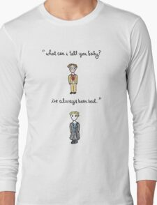 Fool For Love Spike Quote Long Sleeve T-Shirt
