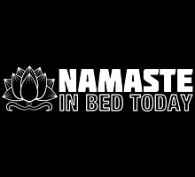 Namaste in Bed by fishbiscuit