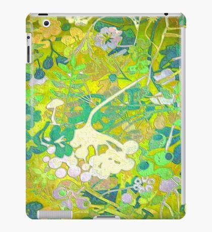 Wacky Retro Floral 2 iPad Case/Skin