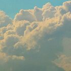 """Popcorn"" clouds. by jessikachu"