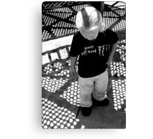 Shadowplay: Playing in Shadows Canvas Print
