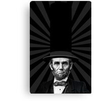 Abraham Lincoln Presidential Fashion Statement Canvas Print