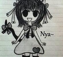 Neko Girl~ (Chibi) by creativecanook