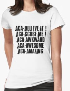 aca-all Womens Fitted T-Shirt
