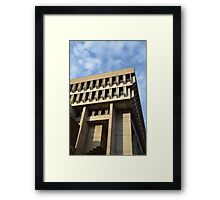 Boston City Hall II Framed Print