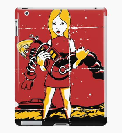 Attack Of The Earth People iPad Case/Skin