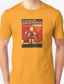 Attack Of The Earth People T-Shirt