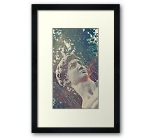 Haunted Bust Framed Print