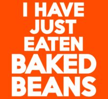 I have just eaten baked beans by onebaretree
