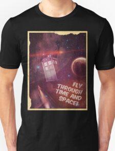 Retro Doctor Who Tourism T-Shirt