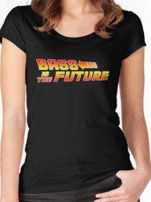 Bass is the Future Women's Fitted Scoop T-Shirt
