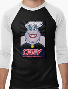 Obey Ursula Men's Baseball ¾ T-Shirt