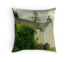 Cottage at Townend Throw Pillow