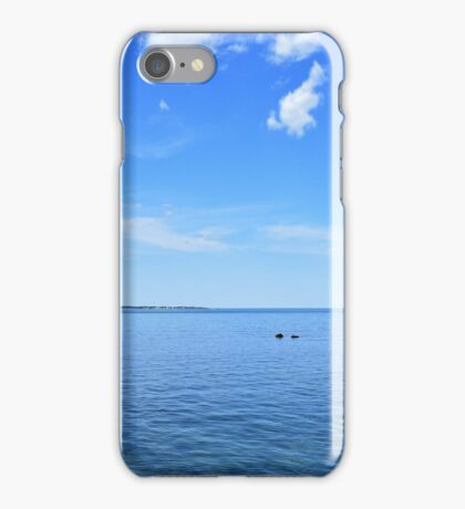 Blue Sky Sunny Day I iPhone Case/Skin