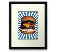Cheeseburger Framed Print