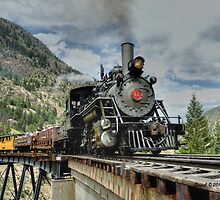 Crossing the Trestle by Stevej46