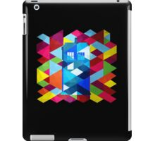Geometric TARDIS iPad Case/Skin