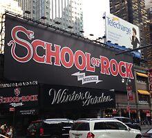 School of Rock Marquee by emjorgenson