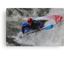 Kayaker Fun Canvas Print